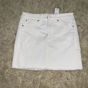 brand new with tags white skirt